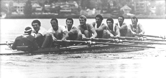 4c981279346 The eight from this team lost to the U.S. Olympic eight by four feet in  Cairo. Husky Crew photo.
